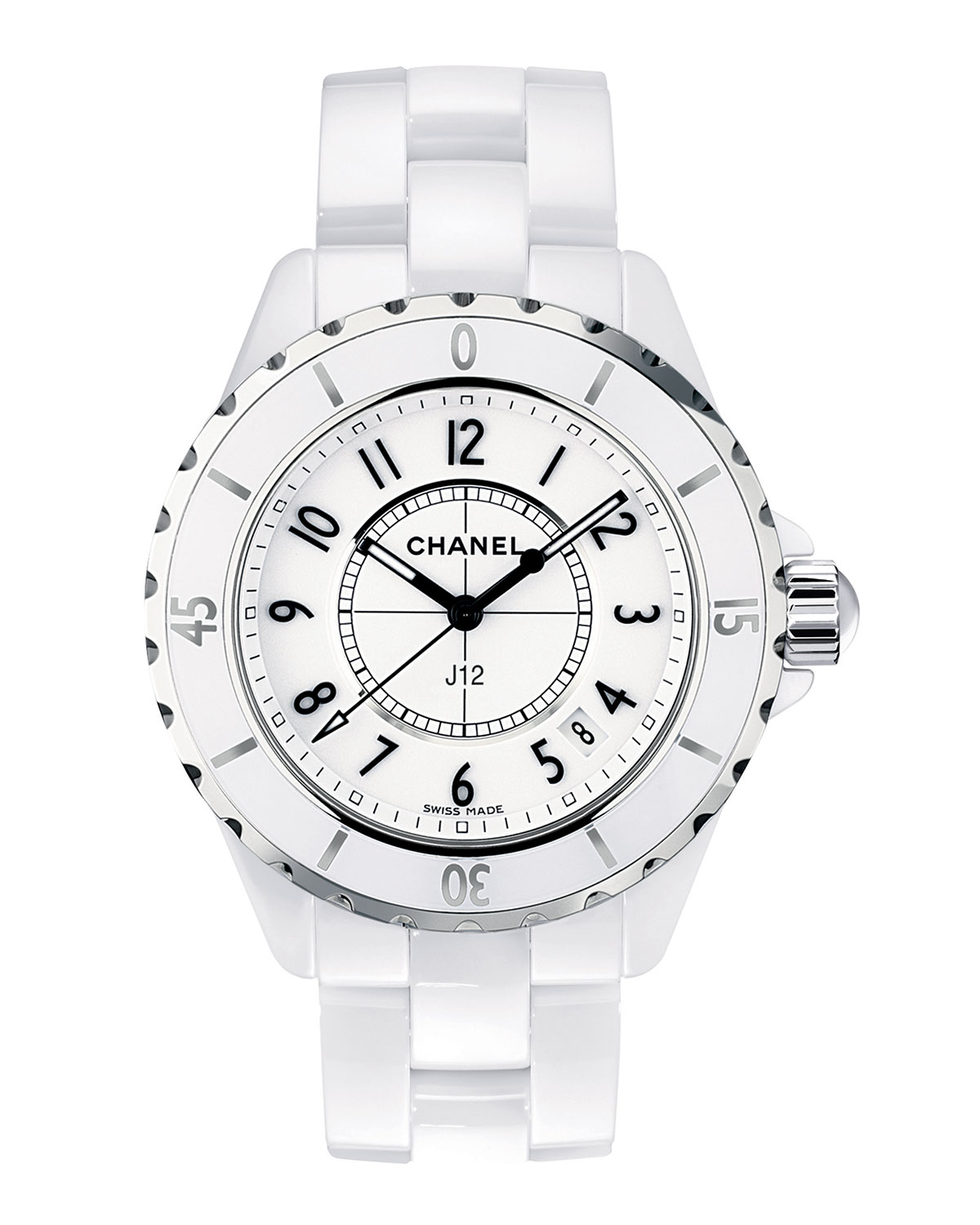 CHANEL J12 33mm White Ceramic Watch