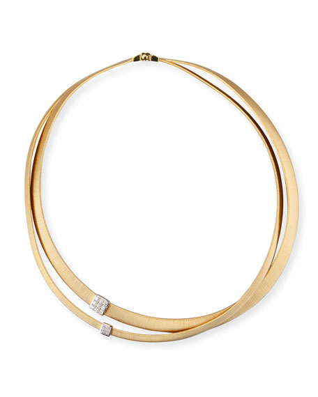Marco Bicego Masai 18K Yellow Gold Two-Strand Necklace