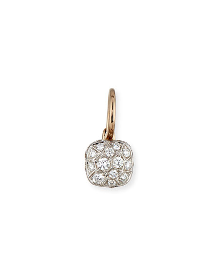 Nudo 18K White & Rose Gold and Diamond Earring