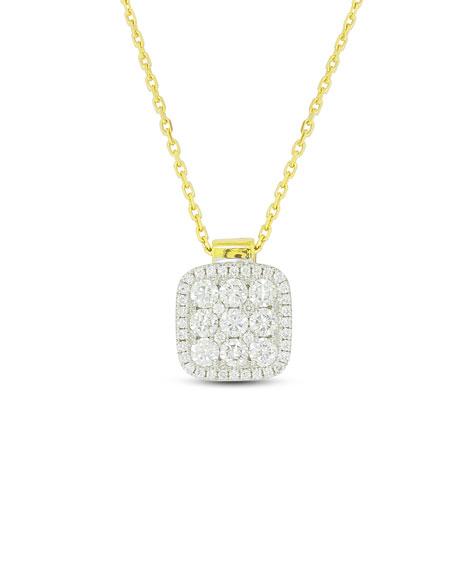 Firenze Diamond Pendant Necklace in 18K Gold