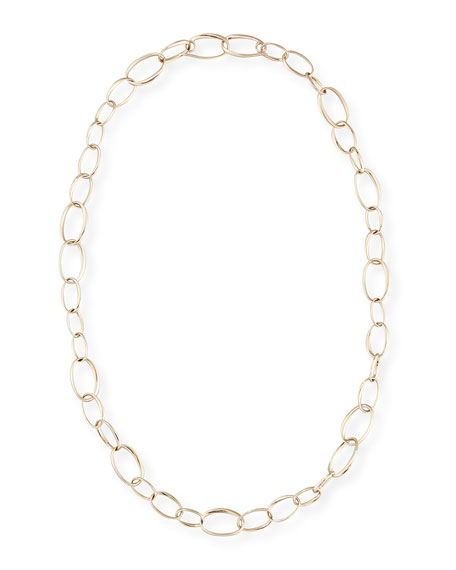 Image 1 of 2: Pomellato Chain Necklace in 18K White Gold