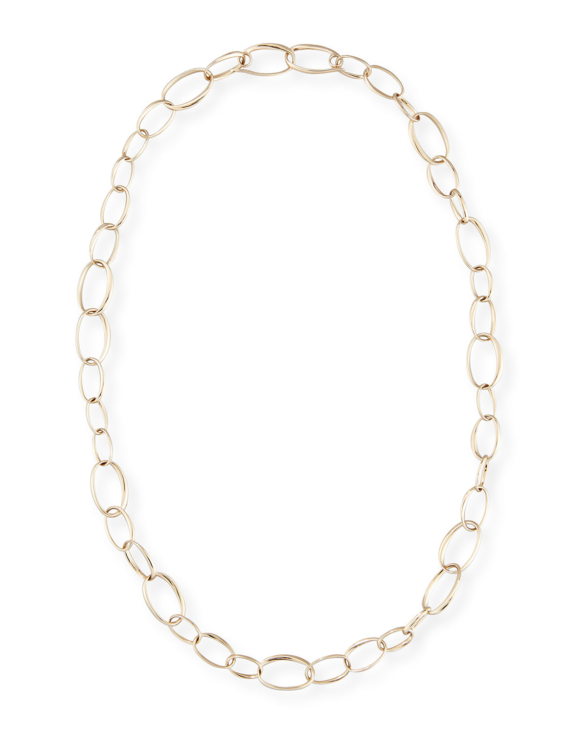 Pomellato Chain Necklace in 18K White Gold