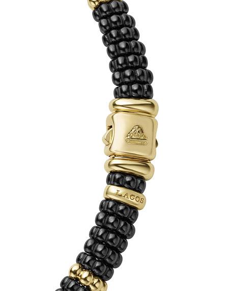 LAGOS Black Caviar & 18K Gold Necklace