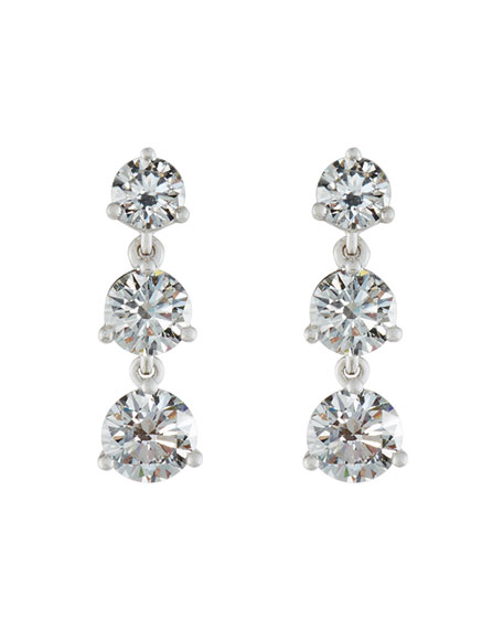 Memoire for Forevermark Diamond Three-Drop Earrings