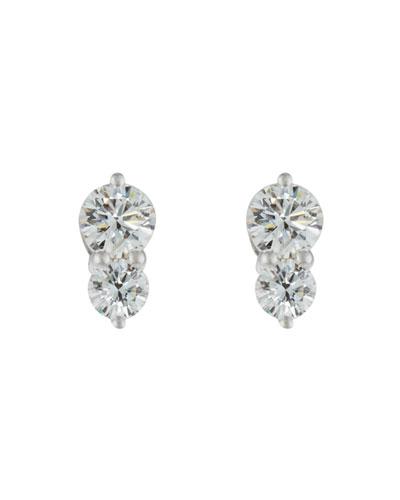 Diamond Duo Stud Earrings