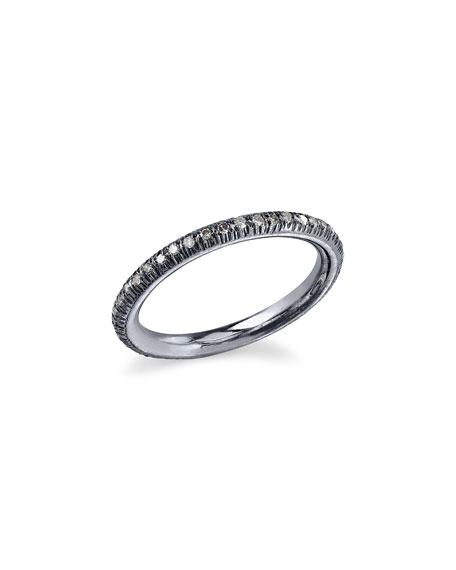 Sheryl Lowe Diamond Stacking Band Ring, Size 7