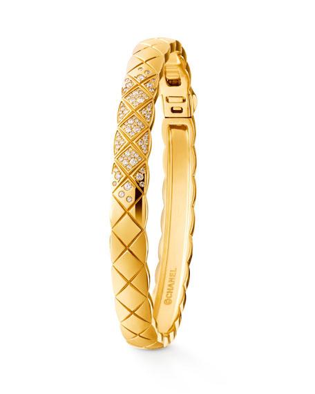 COCO CRUSH BRACELET IN 18K YELLOW GOLD  AND DIAMONDS