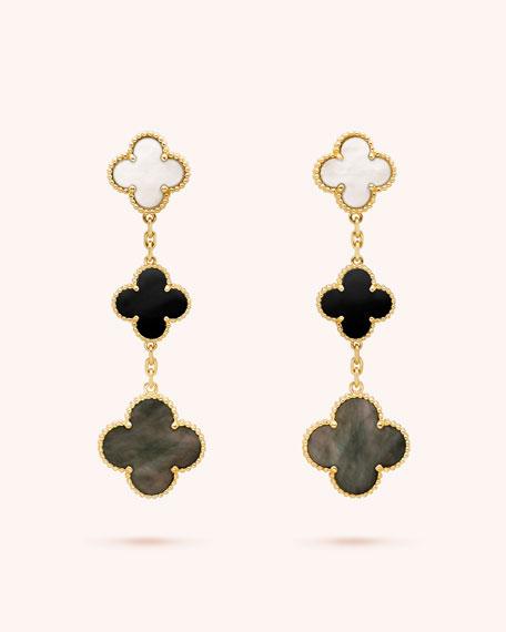 Magic Alhambra Earrings, 3 Motifs