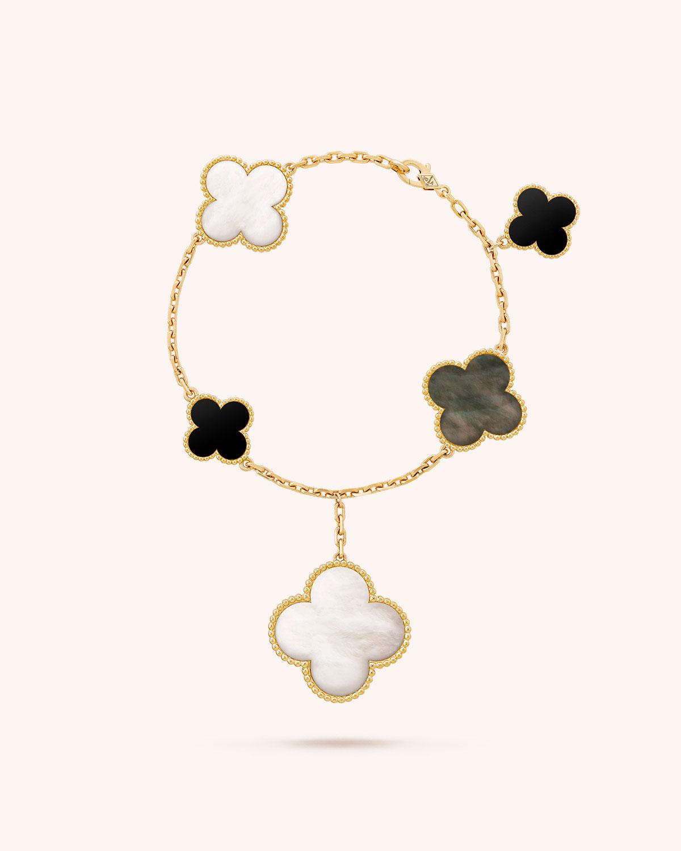 Van Cleef Arpels Magic Alhambra Bracelet Neiman Marcus
