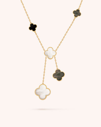 Magic Alhambra Necklace, 6 Motif