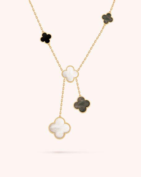 Magic Alhambra Necklace, 6 Motif