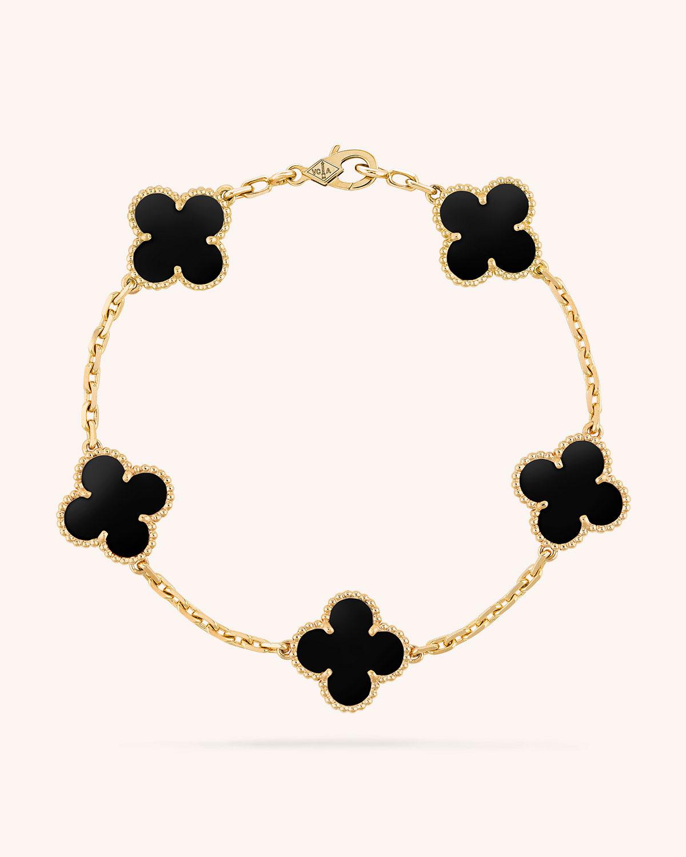 a58d761f42 Van Cleef   Arpels Vintage Alhambra Bracelet