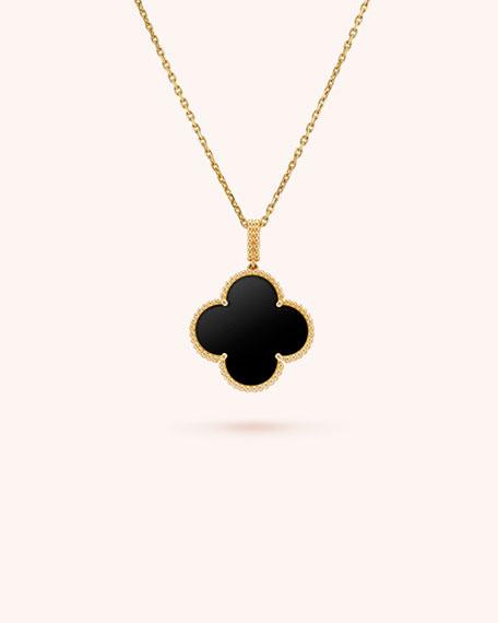 Magic Alhambra Long Necklace, 1 Motif