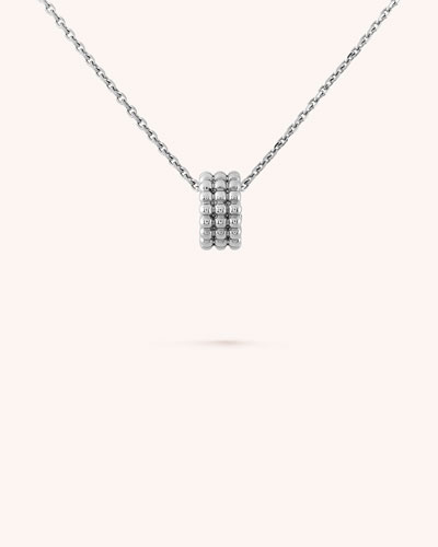 Perlee Pearls of Gold Pendant, 3 Row