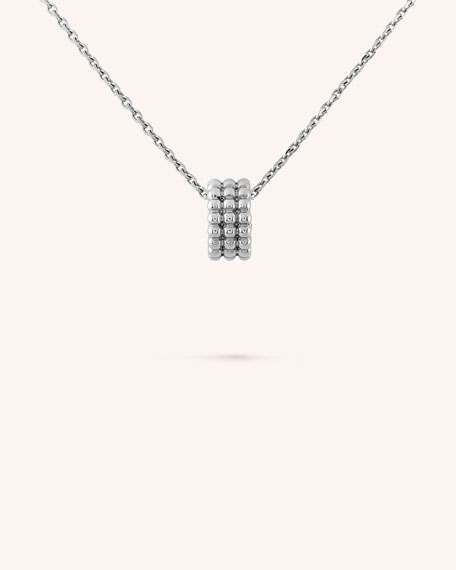 Perlée Pearls of Gold Pendant, 3 Row