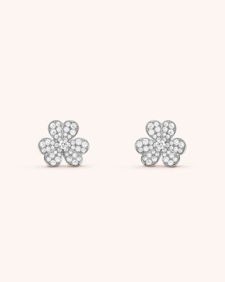 Van Cleef & Arpels Frivole Earrings, Medium