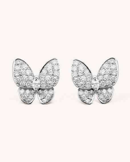 Two Butterfly Earrings