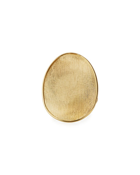 Marco Bicego Lunaria 18k Oval Ring