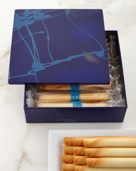 Yoku Moku 18 Small Cigare Cookies