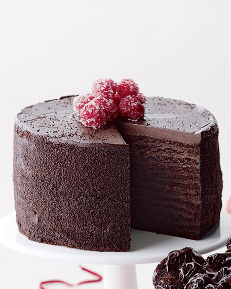 24-Layer Chocolate Cake, For 8-10 People