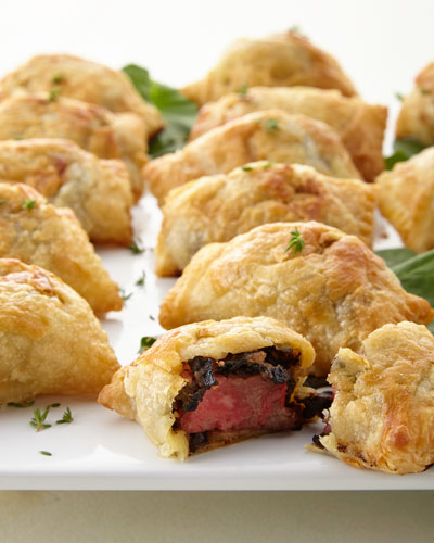 Six Beef Wellington Minis