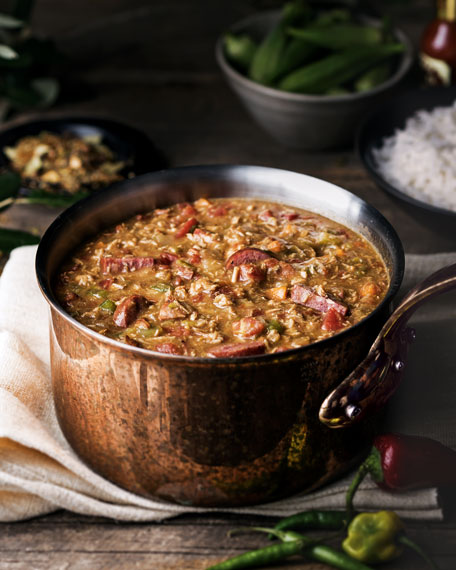 TURKEY & SAUSSAGE GUMBO