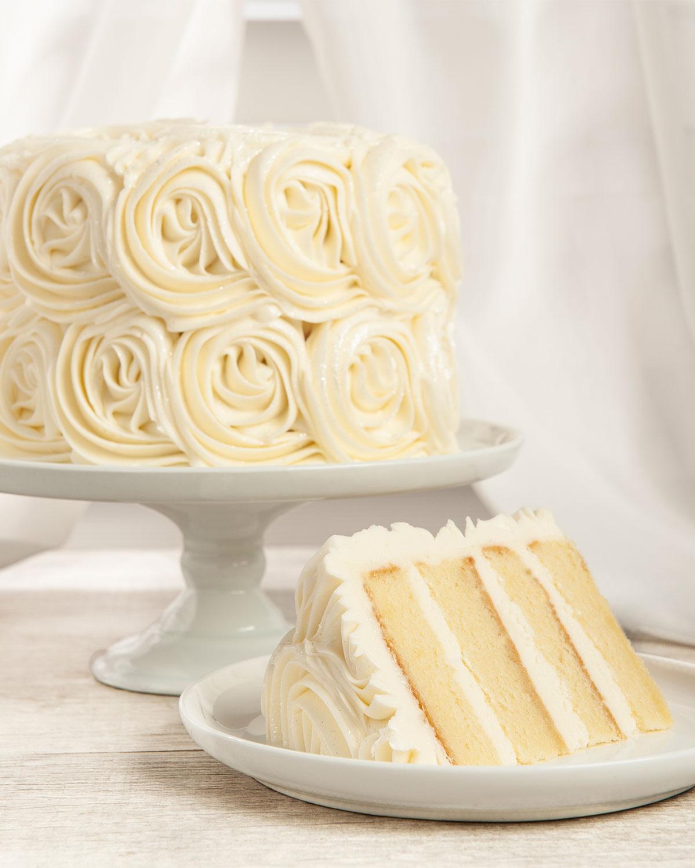 eb3aab20f7ba02 White Buttercream Rose Cake   Neiman Marcus