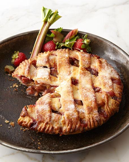 The Dark Chocolate Bakery Strawberry Rhubarb Pie, For