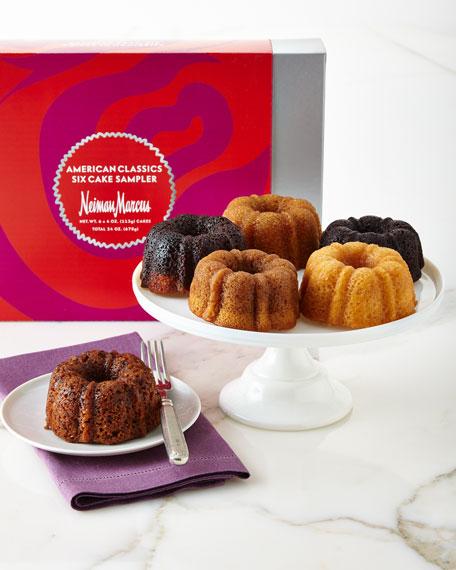 Neiman Marcus Six-Cake American Classic Sampler