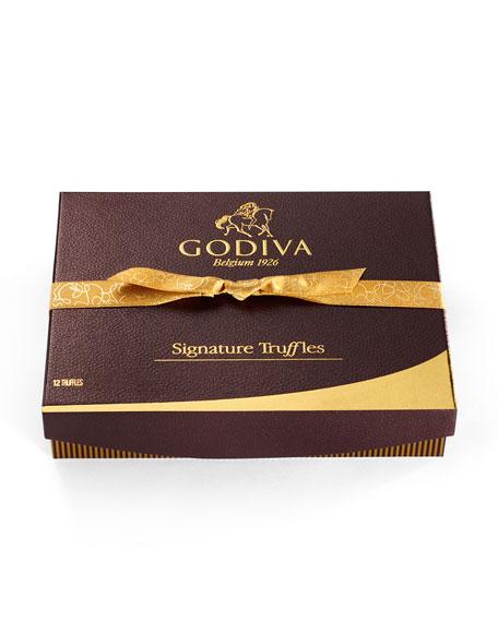 Godiva Chocolatier Signature Truffles, 12 Pieces