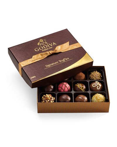 Signature Truffles  12 Pieces