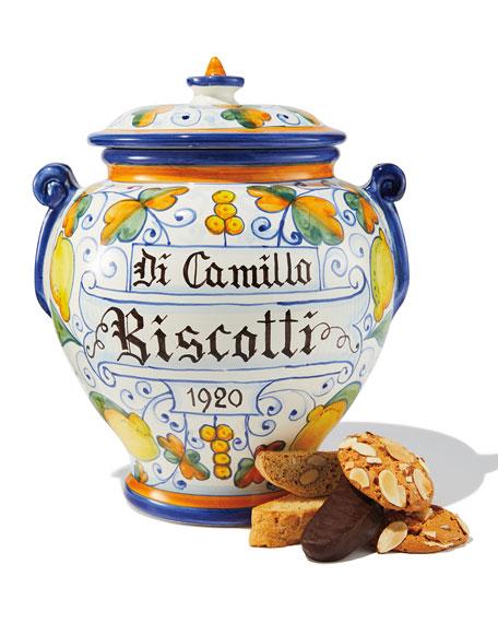 Dicamillo Baking Co Il Limone Montelupo Biscotti Jar