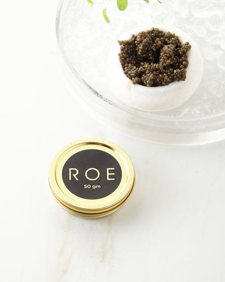 Roe Caviar White Sturgeon Caviar, 50gm