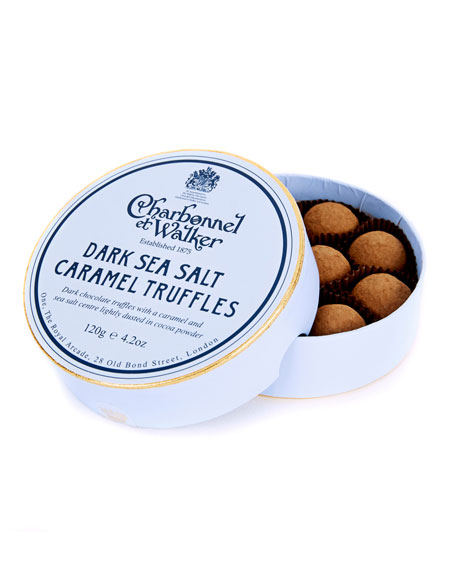 Charbonnel Et Walker Dark Sea Salt Caramel Truffles