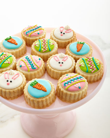 Image 1 of 3: Easter Bunny Shortbread Cookies