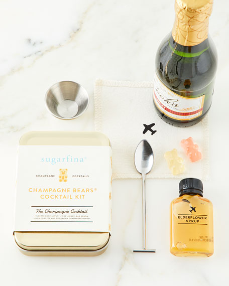 W&P Design Sugarfina Champagne Cocktail Kit