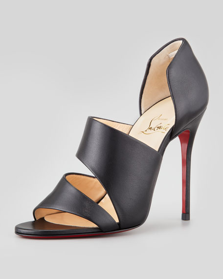 Martissimo Open-Side Red Sole Bootie
