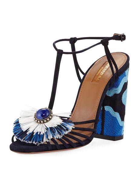 Cheap Original Aquazzura 'Samba' sandals Offer DUSTw5E