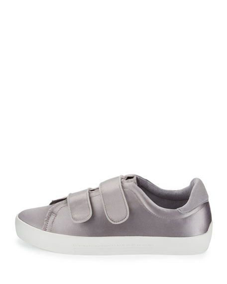 Diata Satin Grip-Strap Sneakers