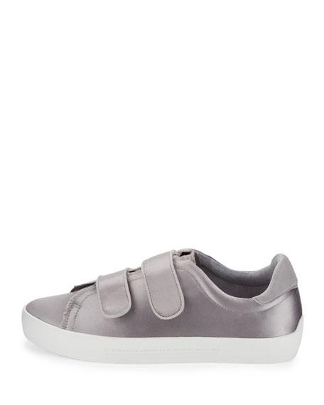 Diata Satin Grip-Strap Sneaker