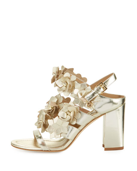 988d281ed Tory Burch Blossom Leather 65mm Sandal