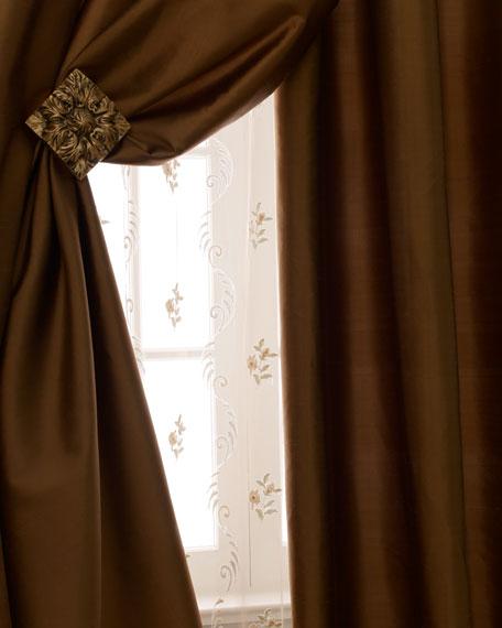 "Radiance Silk Curtain, 84""L"
