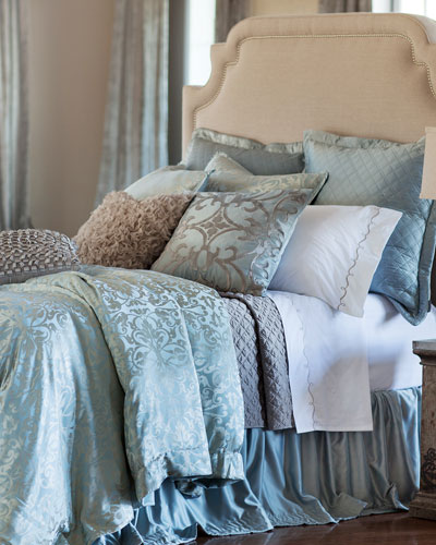 Blue/Silver Jackie Bedding