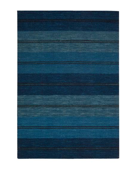 "Villa Stripes Flatweave Rug, 7'9"" x 10'10"""