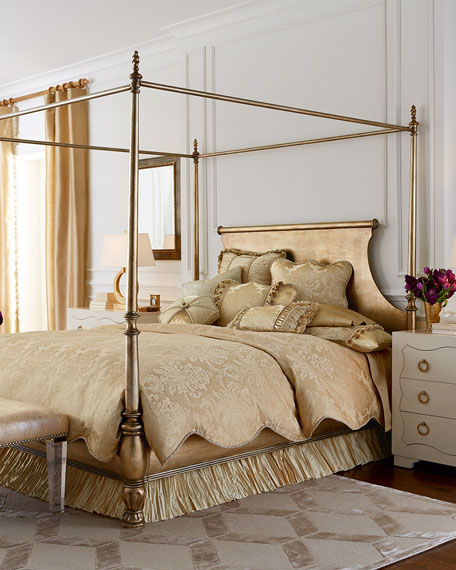 Caterina King Canopy Bed