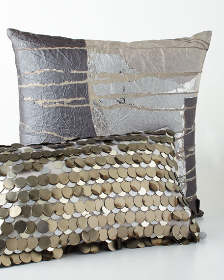 Aviva Stanoff Montclair Paillette Pillow