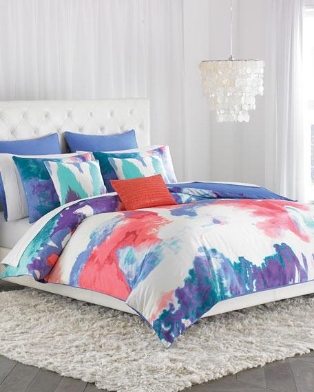 Neimanmarcus King 3-Piece Painterly Comforter Set