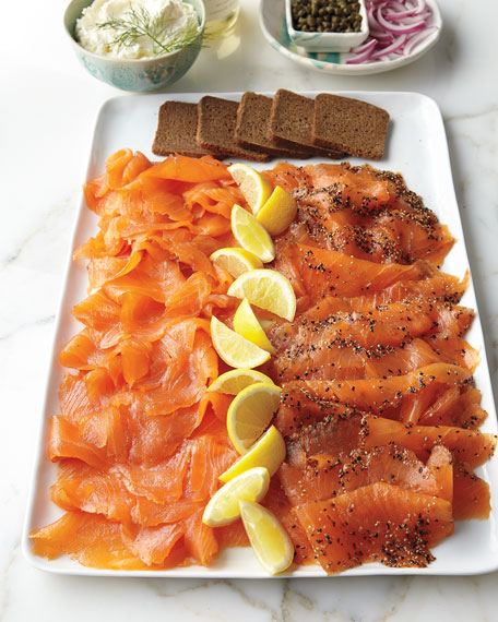 Norwegian Smoked Salmon, For 18-20 People