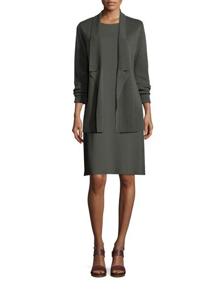 Eileen Fisher Interlock Notched Jacket