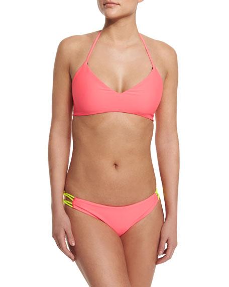 Basta Surf Zunzal Reversible Swim Top, Hot Pink